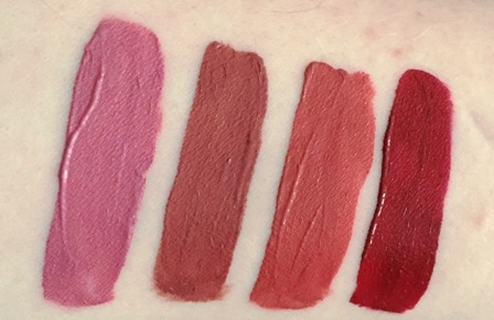 Kat Von D Everlasting Liquid Lipstick Swatches