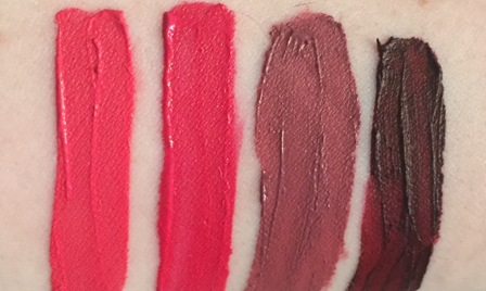 Tarte Tarteist Matte Lip Paint Swatches