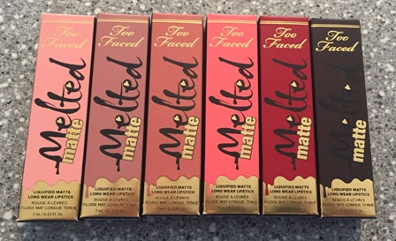 Too Faced Melted Matte Boxes