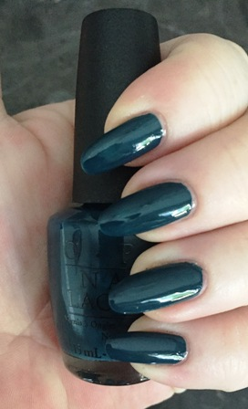 OPI CIA = Color Is Awesome Swatch