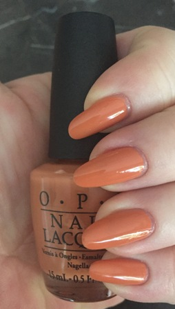 OPI Freedom Of Peach Swatch