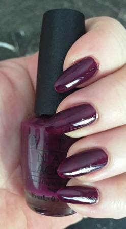 OPI Kerry Blossom Swatch