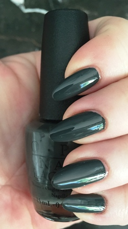 OPI Liv In The Gray Swatch