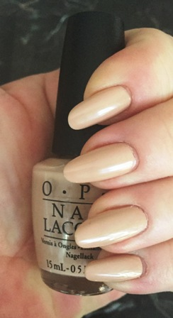 OPI Pale To The Chief Swatch