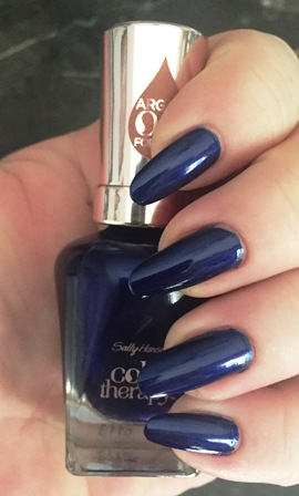 Sally Hansen Color Therapy Soothing Sapphire Swatch
