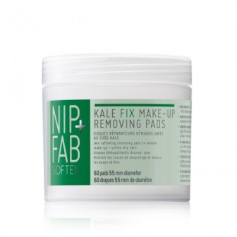 nip + fab kale fix make-up removing pads