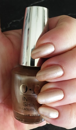 OPI Infinite Shine Cosmo-Not Tonight Honey! Swatch