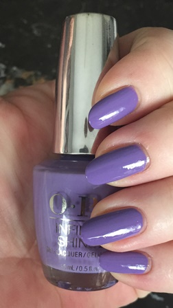 OPI Infinite Shine Don't You Lilac It Swatch