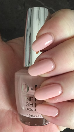 OPI Infinite Shine Sweet Heart Swatch