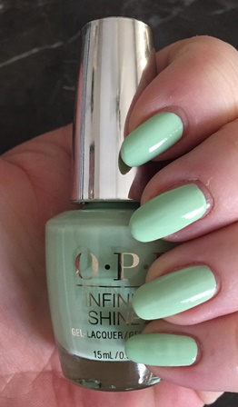 OPI Infinite Shine That's Hula-rious Swatch