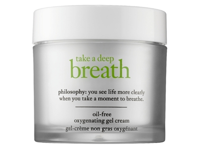 Philosophy-Take-A-Deep-Breath Oil-free oxygenating gel cream